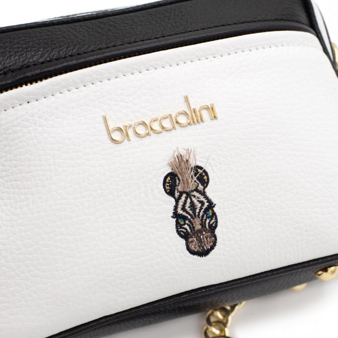 Сумка cross-body из натуральной кожи Braccialini